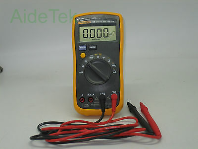 New FlUKE 15B Multimeter AC/DC/Diode/R/C auto/manual