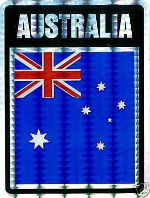 Australia, Commonwealth of: Large Flag Stickers LOT NEW