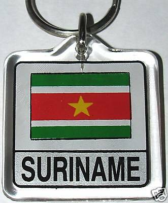 Maldives Divehi Jumhuriyya Flag Key Chain NEW