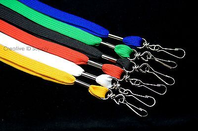Lot 250 ID NECK Lanyards STRAP for ID Badges - FREE SHIPPING