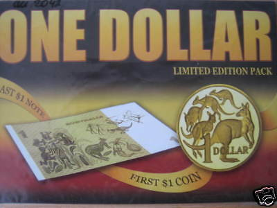 Mds Australien The Last $1 Note And The First $1 Coin