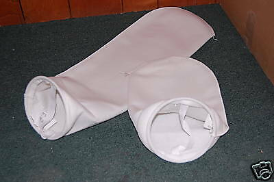 "5 - 7"" x 32"" Polyester Sock Filter bags Biodiesel WVO"