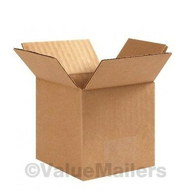 100 6x4x4 PACKING SHIPPING CORRUGATED CARTON BOXES