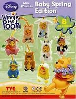 TOMY _Winnie the Pooh_ BABY SPRING EDITION completa