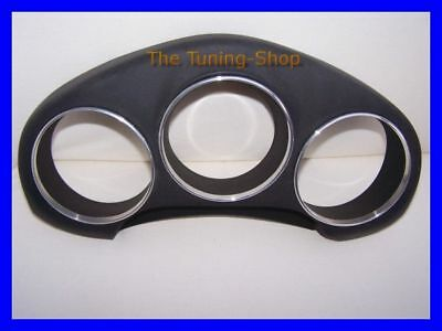 Fits Toyota Mr2 Mk3 00-07 Chrome Dial Rings Speedo Surrounds Polished Alloy