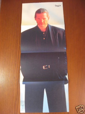 Poster Jeff Bridges Cm. 85X34 !!!!!!!!!!!!!!!!!!!