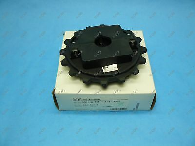"Rexnord 614-167-1 NS7956 Split Table Top Chain Sprocket 1.25 Bore 16T 6.44"" OD"