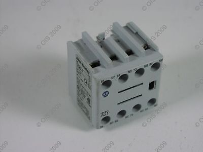 Allen Bradley 100-FA31 Contactor Auxiliary Contact Block Front Mounted 3 NO/1 NC