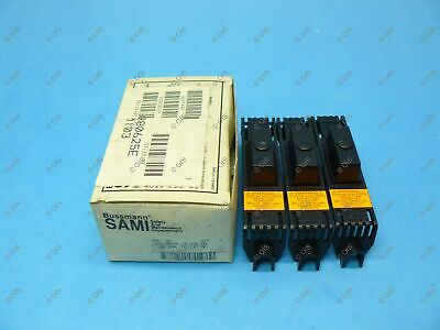 Bussmann SAMI-1N Finger Safe Fuse Block Cover Class J, T, RK, K5, H Qty 3 New
