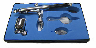 AIRBRUSH double action / AIR BRUSH KIT FOR COMPRESSOR ART CAKE CRAFT SPRAY GUN