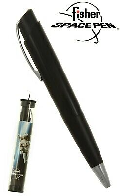 Fisher Space Pen #SWY/CS / Black Stowaway Pen with Clip & Stylus