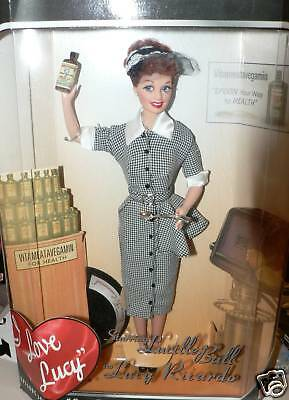 I Love Lucy Barbie As Lucy Does A Tv Commercial Number 1 In Box
