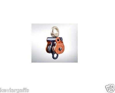 ROCK EXOTICA 1.5 Pulley twin sheave block for 1/2 inch Rope