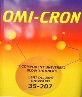 Omi-Cron 2K Universal BASCOAT & GLOSS Thinner Slow 5L