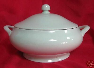 FITZ & FLOYD TOTAL COLOR MINT SHERBERT ROUND CASSEROLE