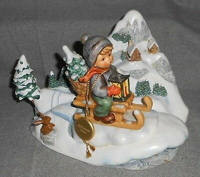 1997 Goebel WINTER RIDES Ride Into Christmas LTD ED.