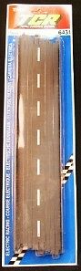 "TYCO TCR 15"" Straight Track NOS # 6431 New Old Stock"