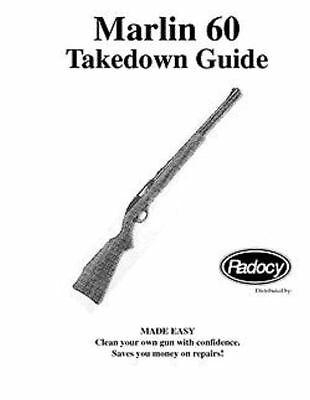 Marlin 60 Rifle Takedown  Guide Radocy Assembly 22 auto