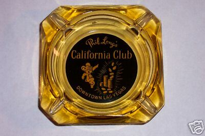 Casino Ashtray Phil Long's California Club Lv Nv
