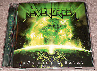 NEVERGREEN: EROS, MINT A HALAL 2007. *2 CD 2 LANGUAGES* erős halál
