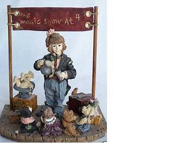 Boyd's Bears~The Amazing Bailey~Magic Show At 4~Retired~Box~Free Ship In Us~