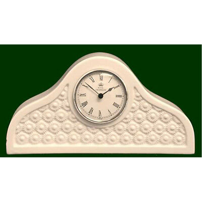 Royal Creamware Daisy Mantle Clock