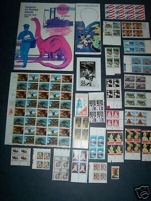 US Commemorative stamps year 1989, approx. 157 unused