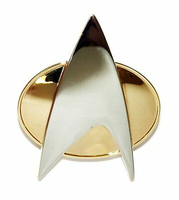 STAR TREK - Next  Generation orig. Communicator Pin - Metall neu
