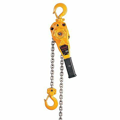 Harrington 1-Ton Lever Hoist - 10' Lift - New LB010