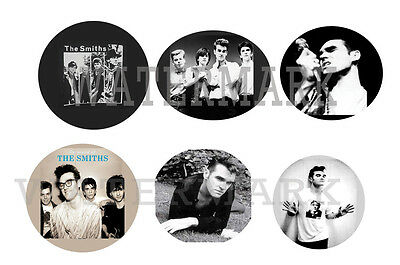"""THE SMITHS/MORISSEY set of 6 ONE INCH BUTTON 1"""" Pins"""