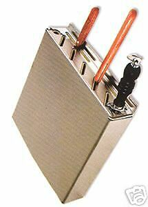 Wall Mount Knife Rack Stainless Steel -- New