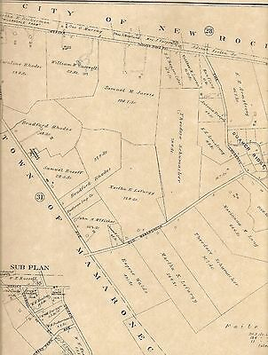 Scarsdale Fox Meadow Murray Hill NY 1910 Maps with Homeowners Names Shown