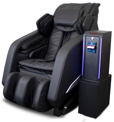 Deluxe Dollar Bill Coin Massage Chair Lounger Kneading Rolling Tapping RT-M02
