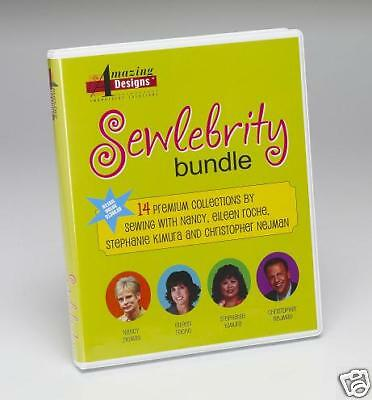Amazing Designs Sewlebrity Bundle-Embroidery Designs!!!