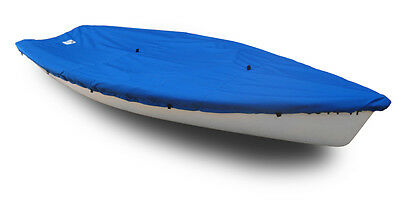 Polyester Royal Blue Boat Deck Cover Wide Rub Rail Dyer Dhow 9 Sailboat
