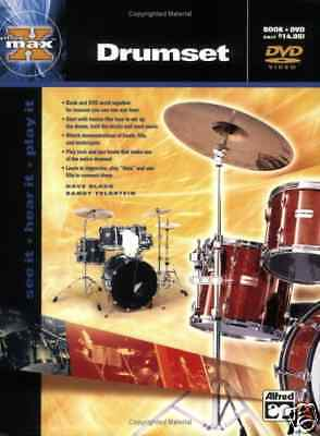 Learn To Play The Drums Percussion Tutor Book & Dvd Teach Yourself