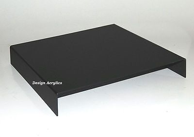 "12"" Acrylic High Gloss Black  Photo Table Riser Rare"