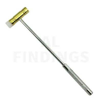 BRASS nylon hammer Jewellery craft doming dapping metal forming tool