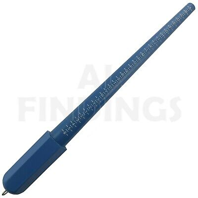 Ring Sizer Measure Gauge Stick All Uk Sizes  Az+6 Craft Wedding Tool