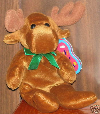 AVON Full O' Beans 1999 December Spruce the Moose NEW