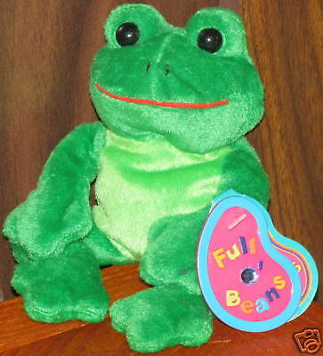 AVON Full O' Beans 1999 March Tad the Frog NEW
