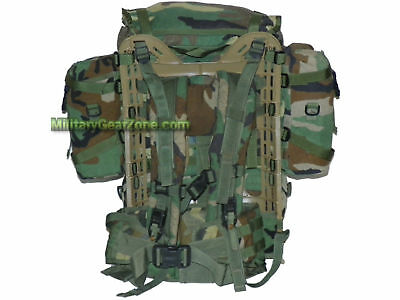 MOLLE II Rifleman RUCKSACK BACKPACK Woodland SDS Ruck