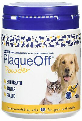 PlaqueOff Animal 180g Tartar & Plaque off removal dental Dog Cat