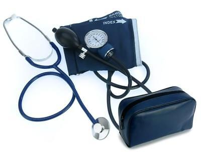 ADULT BP CUFF BLOOD PRESSURE KIT with STETHOSCOPE, NEW