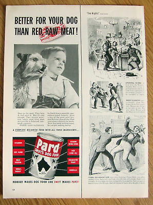 1952 Pard Dog Food Ad   Dog  ?