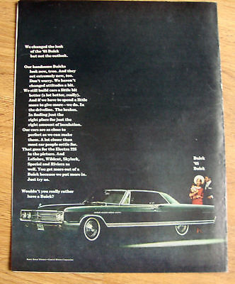 1965 Buick Electra 225 Ad  We changed the Look