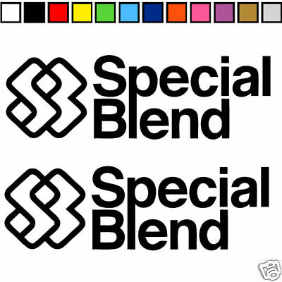 2 Special Blend Clothing Decal Sticker Graphic