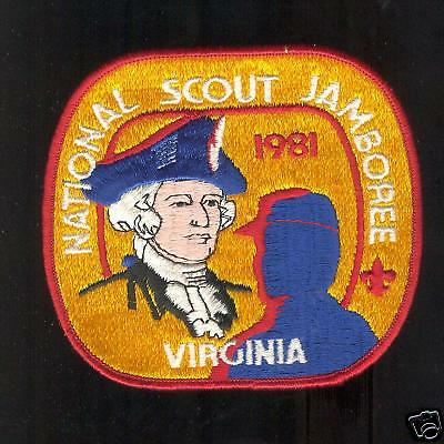 MINT 1981 National Jamboree Backpatch