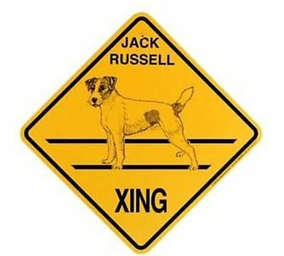 Jack Russell  Xing Sign Dog Crossing  Sign NEW