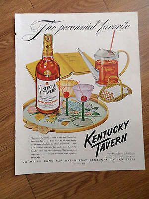 1950 Kentucky Tavern Whiskey Ad